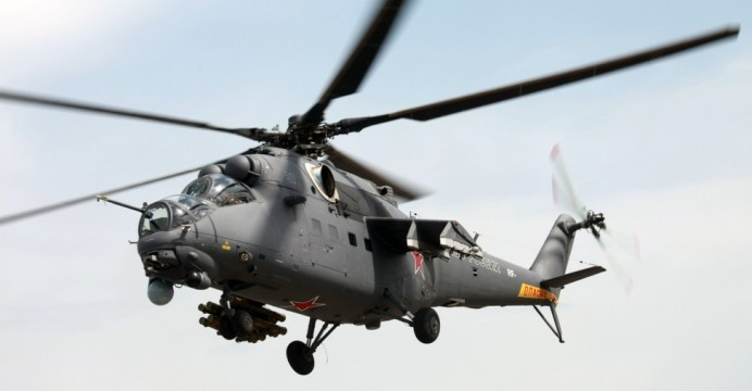 Pakistan Gets Mi-35M Assault Helicopters from Russia