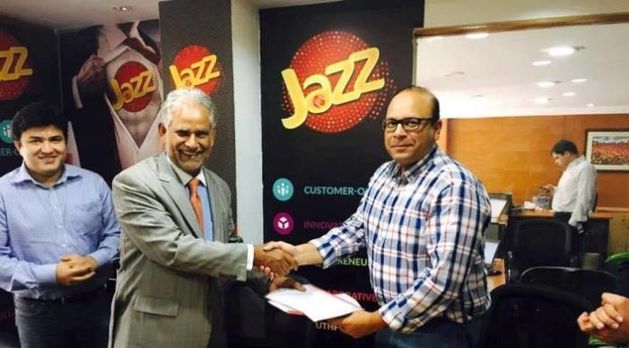 PASHA signed MoU with JAZZ Pakistan for Better Connectivity