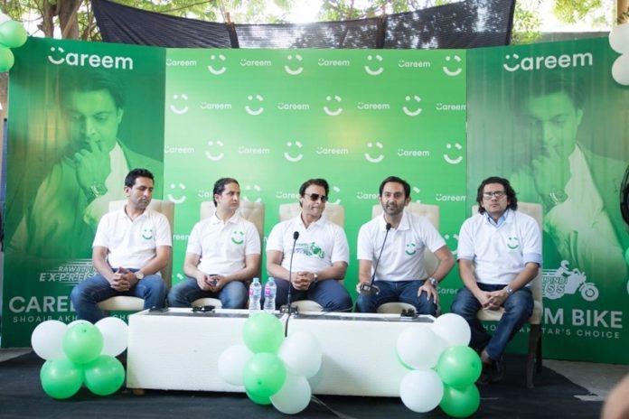 Shoaib Akhtar launches Careem New Bike Service