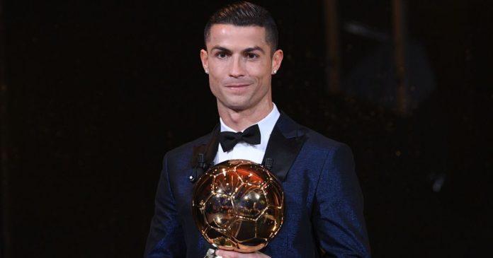 Ronaldo equals record with fifth Ballon d'Or