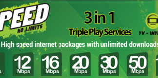 Get all new 100MB PTCL Connection in just 4,999 Rupees