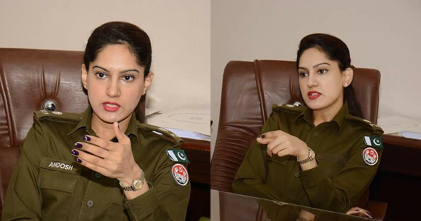 KPK police officer became Social Media Celebrity