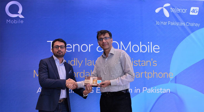Telenor Pakistan and Q Mobile collaborated together for Ecosystem Launching in Pakistan