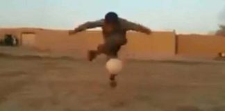Video Young Pakistani kid's football tricks wow the internet